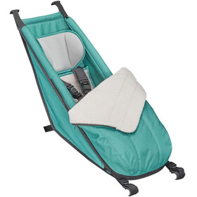 Croozer Babysitz inkl. Winter-Set für Kid Plus / Kid ab 2014 artic green